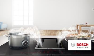 Bosch kochfeld mit integriertem dunstabzug siemens liebherr