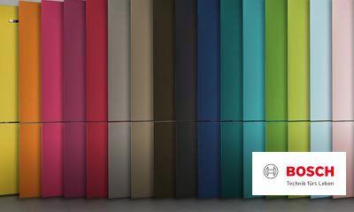 Bosch Kühlschrank Ersatzteile : Bosch vario style farbige fronten für ihren kühlschrank