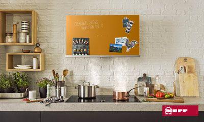 Kreative dunstabzugshauben von neff für kreative küchen. siemens