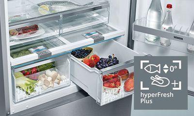 Siemens Kühlschrank Vitafresh : Kühlgeräte mit hyperfresh der siemens extraklasse siemens