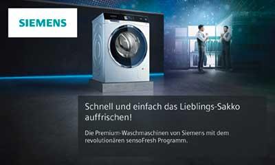 Siemens iq waschmaschine mit sensofresh siemens liebherr