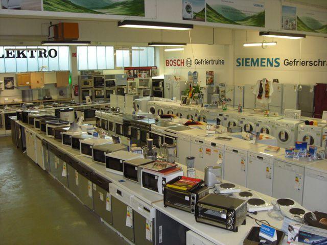 Siemens Kühlschrank Outlet : Elektrogeräte ausstellung beratung zum anfassen siemens